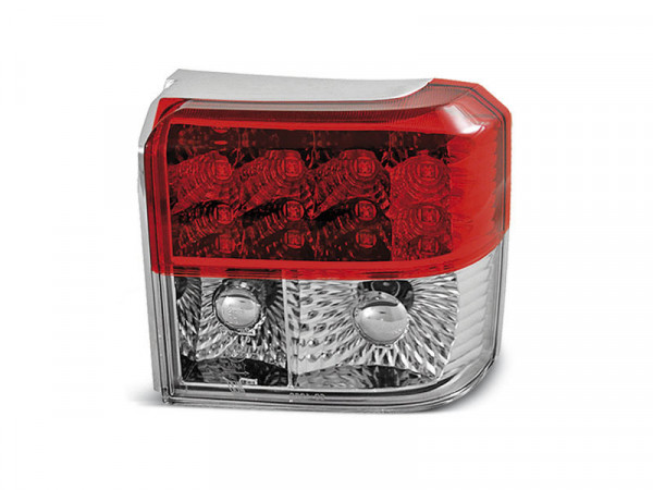 Led Tail Lights Red White Fits Vw T4 90-03.03