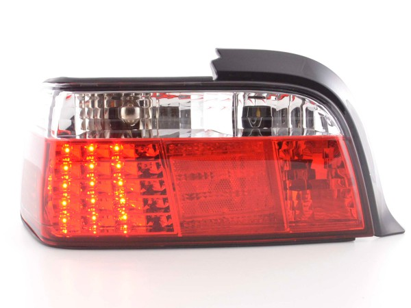 Led Taillights BMW serie 3 Coupe type E36 Yr. 91-98 clear/red