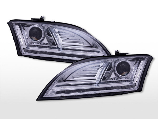 Daylight Scheinwerfer mit LED Tagfahrlicht Audi TT (8J) 2010-2014 chrom