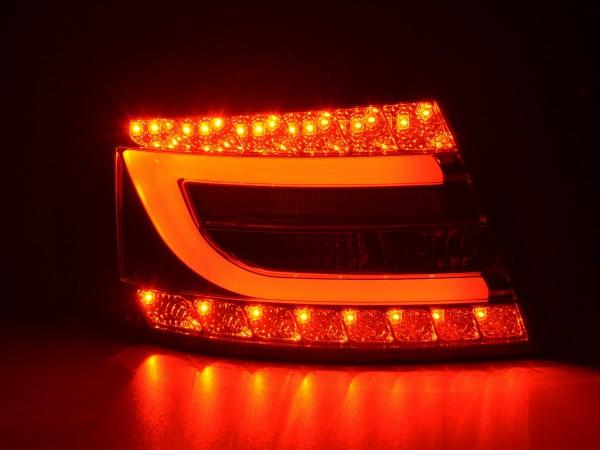 Taillights LED Audi A6 saloon (4F) Yr. 04-08 black