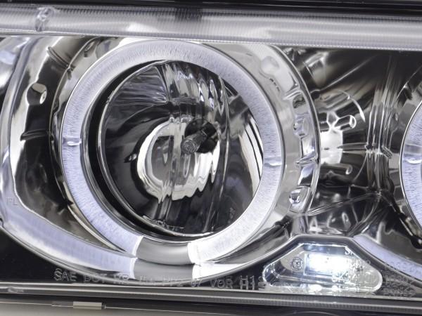 headlight BMW serie 3 Coupe type E36 Yr. 92-98 chrome