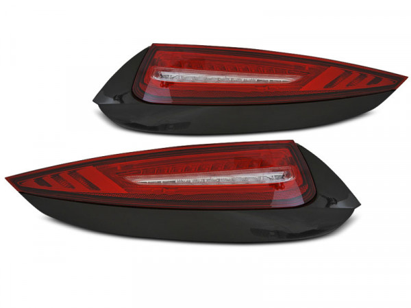 Led Tail Lights Red White Fits Porsche 911 997 09-12