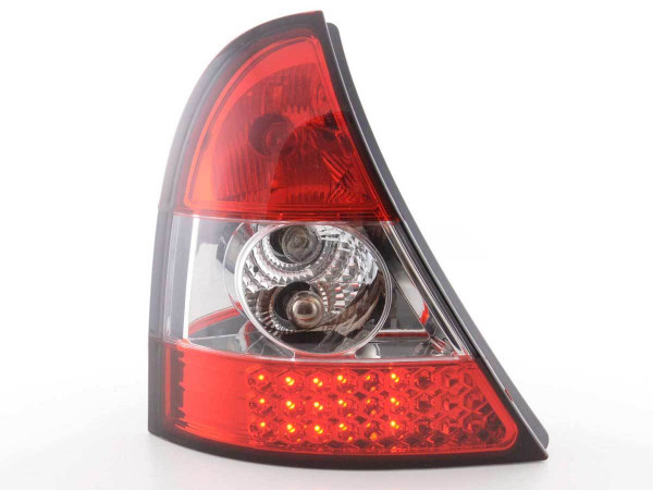 Led Taillights Renault Clio type B Yr. 01-04 clear/red