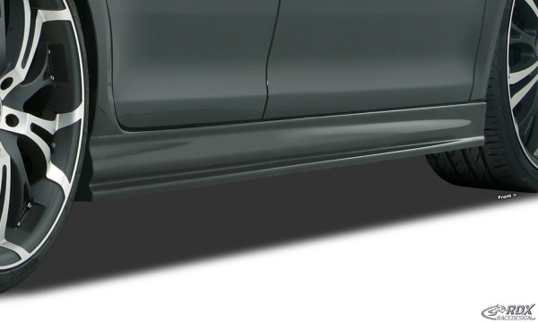 "RDX Sideskirts for SKODA Fabia 2 / 5J (-2010 & Facelift 2010+) ""Edition"""