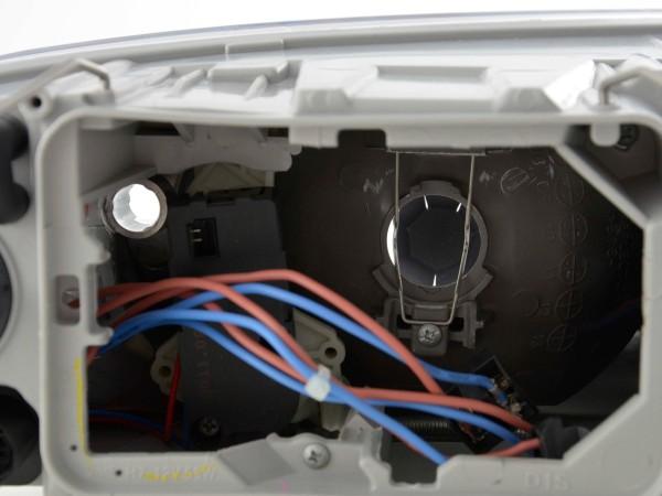 Spare parts headlight left Skoda Octavia (type 1Z) Yr. 04-08