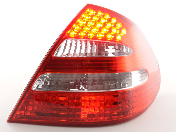 Spare parts Taillights right Mercedes E-Class Lim. type W211 clear/red