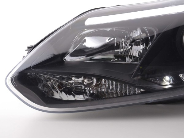 Daylight headlight Set Ford Focus 3 Yr. 2010- black