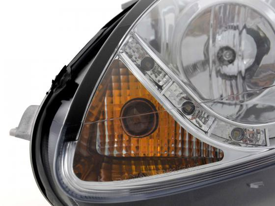 Daylight headlight Fiat Bravo type 198 Yr. 07- chrome