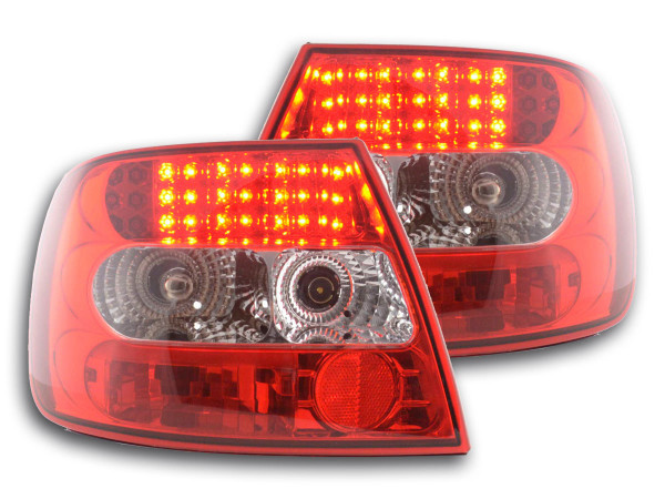 Led Taillights Audi A4 saloon type B5 Yr. 95-00 clear/red