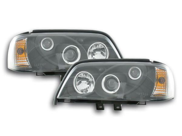 headlight Mercedes C-Classe type W202 black