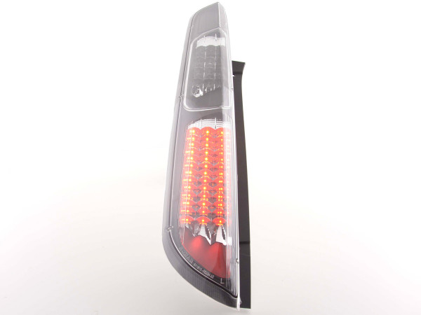 Led Taillights Ford Focus 2 5-dr Yr. 04-08 black