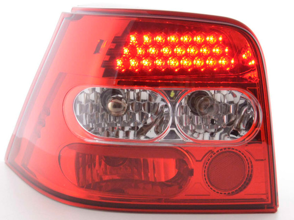 Led Taillights VW Golf 4 type 1J Yr. 98-02 clear/red