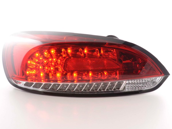 Led Taillights VW Scirocco 3 type 13 Yr. 08- red/clear