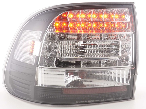 Led Taillights Porsche Cayenne type 955 Yr. 02-06 black
