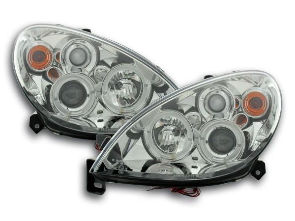 headlight Citroen Xsara type N7 Yr. 00-05 chrome
