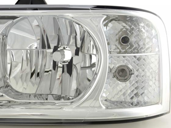 Spare parts headlight left Fiat Ducato / Peugeot Boxer / Citroen Jumper