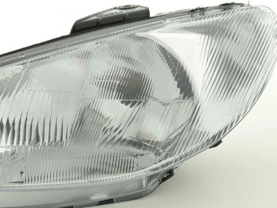Spare parts headlight left Peugeot 206 Yr. 98-03