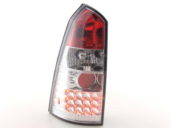 Led Rear lights Ford Focus Turnier DNW Yr. 98-04 chrome