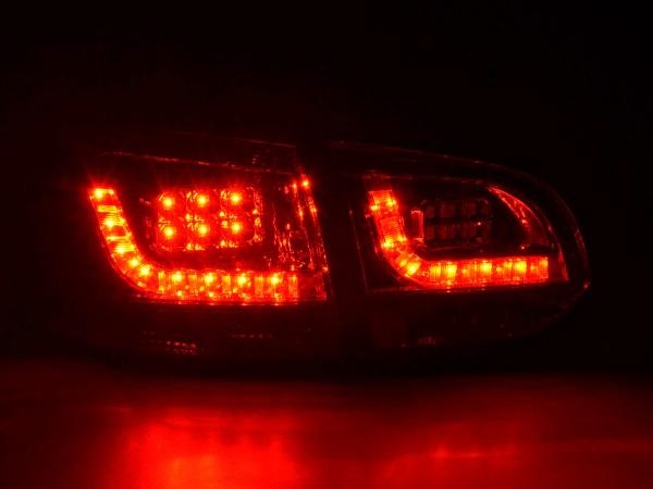 Led Taillights VW Golf 6 type 1K Yr. 2008-2012 red/black