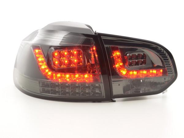 Led Taillights VW Golf 6 type 1K Yr. 2008-2012 black with Led indicator
