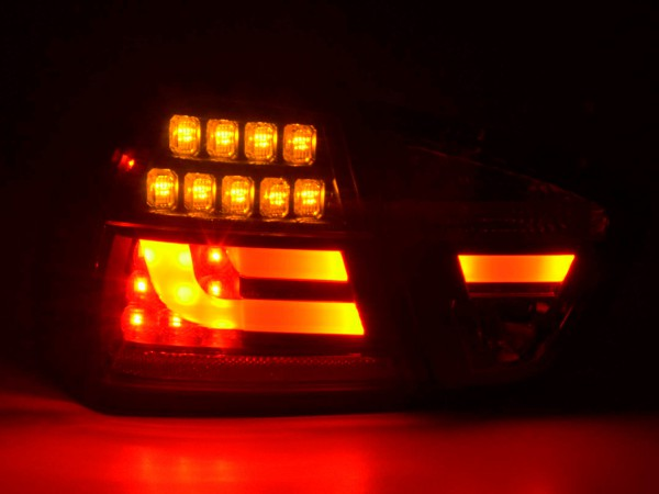 Taillights Set LED BMW serie 3 E90 saloon Yr. 05-08 red/black