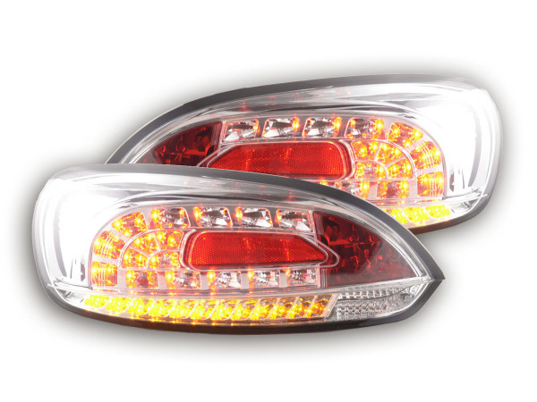 Led Rear lights VW Scirocco 3 type 13 Yr. 08- chrome