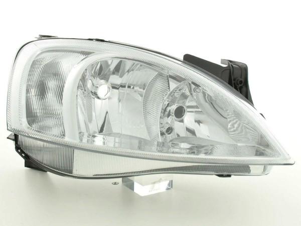 Spare parts headlight right Opel Corsa C Yr. 00-03
