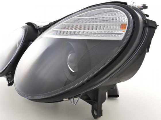 headlight Mercedes E-Classe type W211 Yr. 06-08 black
