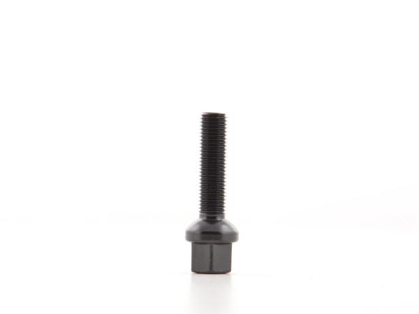 Wheel bolts Set (10 St?ck) L= 35 mm M12 x 1,5 black