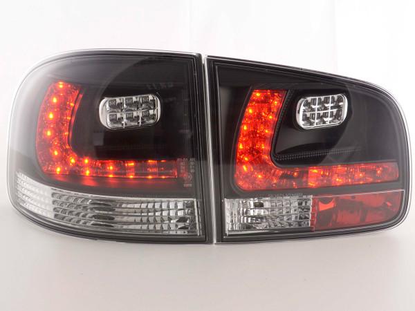 Led Taillights VW Touareg type 7L Yr. 03-09 black