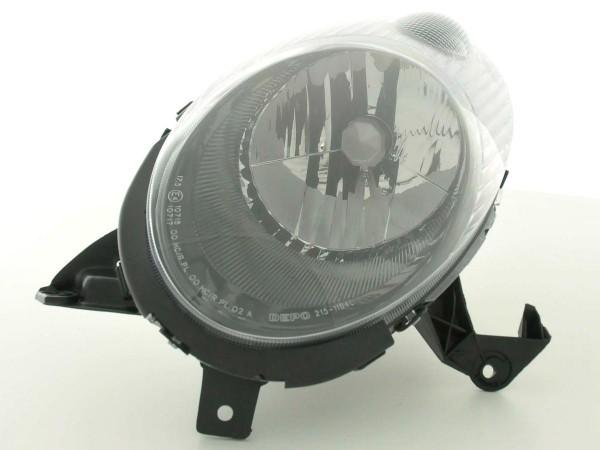 Spare parts headlight left Nissan Micra (type K12) Yr. 03-05