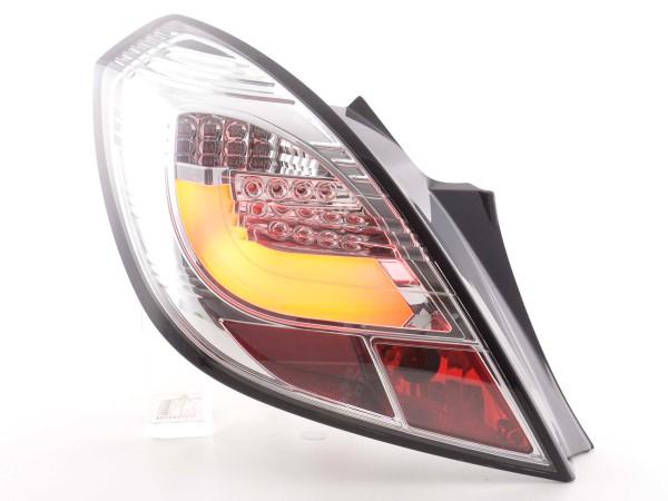 Rear lights Set LED Opel Corsa D 3-door Yr. 06-10 chrome