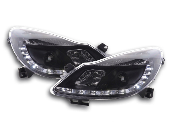 Daylight headlight Opel Corsa D Yr. 06- black