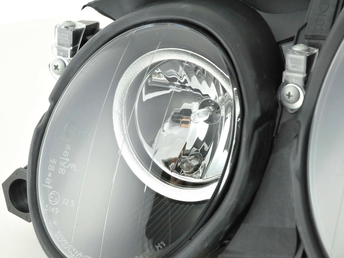 headlight Mercedes CLK type W208 Yr  98-02 black
