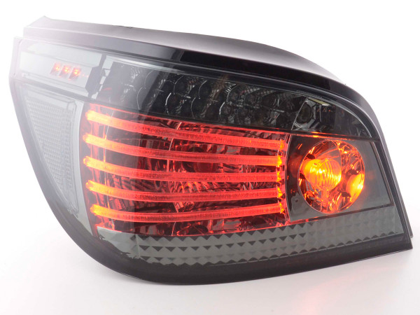 Led Taillights BMW serie 5 saloon type E60 Yr. 03- black