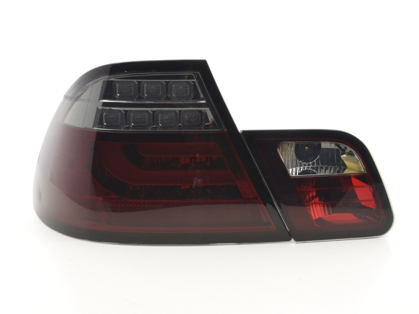 Led Taillights BMW serie 3 E46 Coupe Yr. 99-03 red/black