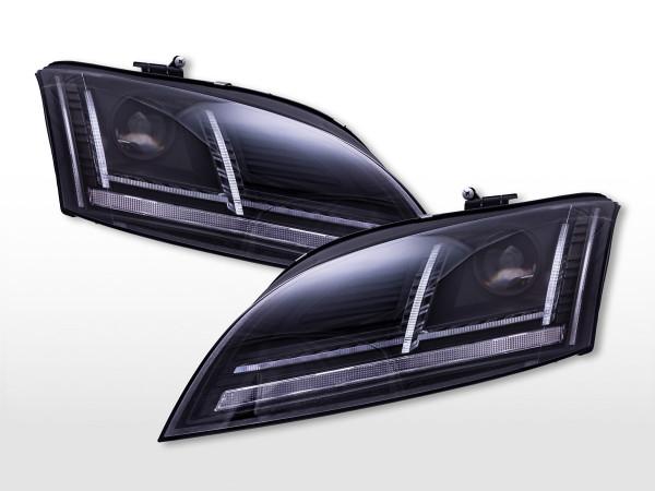 Daylight Scheinwerfer mit LED Tagfahrlicht Audi TT (8J) 2010-2014 schwarz