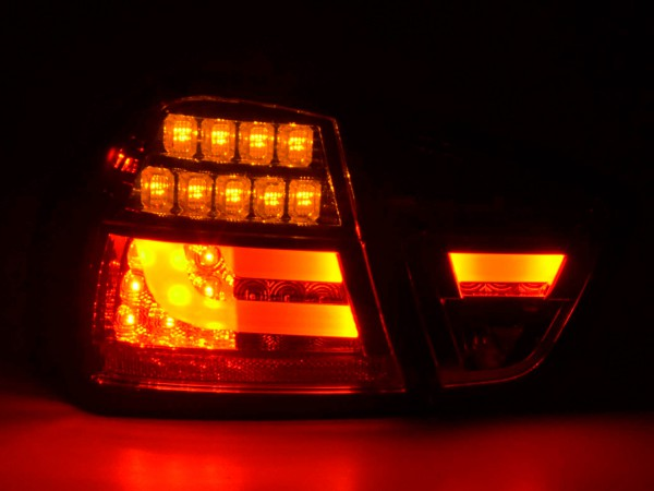 Taillights Set LED BMW serie 3 E90 saloon Yr. 05-08 black