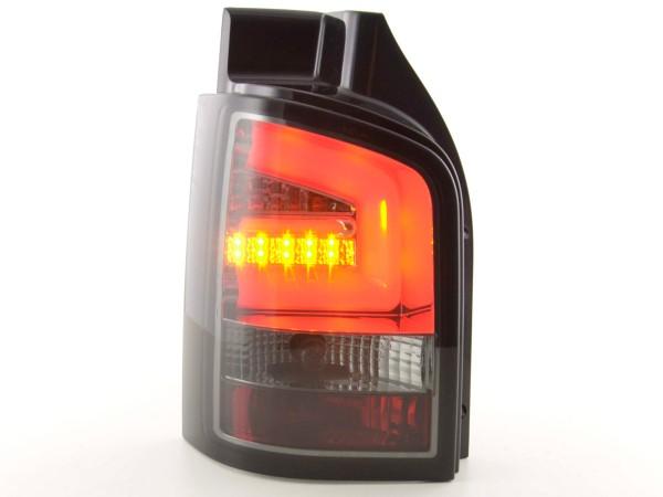 Taillights Set LED VW T5 Yr. 03-10 black