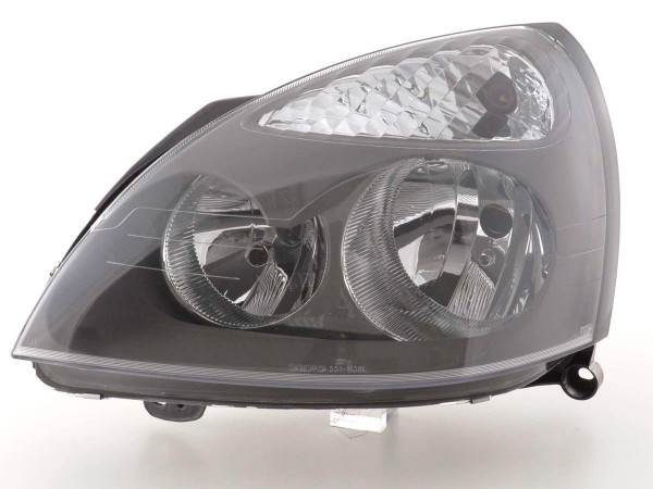 Spare parts headlight left Renault Clio (type B) Yr. 01-03