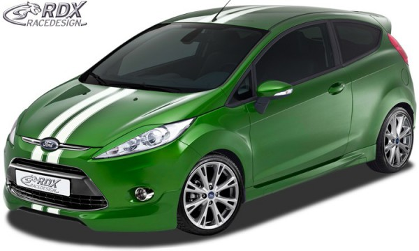 RDX Front Spoiler FORD Fiesta MK7 JA8 JR8 (2008-2012)