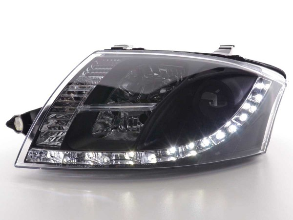 Daylight headlight Audi TT type 8N Yr. 99-06 black