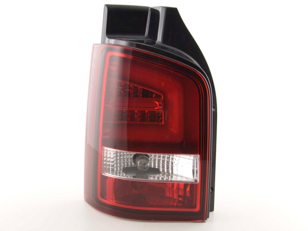 Taillights Set LED VW T5 Yr. 2010- red/clear