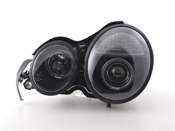 Headlight Mercedes E-Classe type W210 Yr. 95-98 black RHD