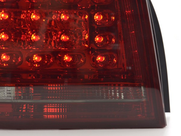 Taillights LED Audi A3 3doors (8P) Yr. 2010-2012 red/black