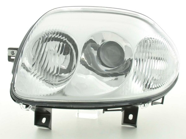 Spare parts headlight left Renault Clio (type B) Yr. 98-01