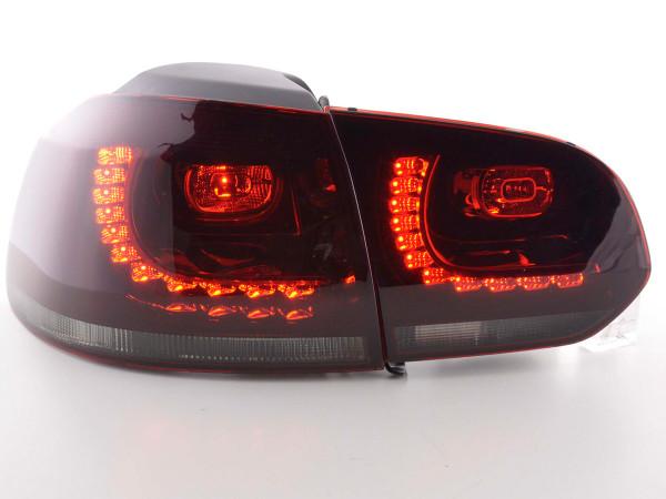 Led Rear lights VW Golf 6 type 1K Yr. 2008-2012 red/black GTI-Look