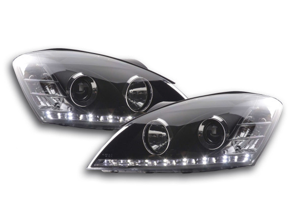 Daylight headlight Kia cee'd 5-door. type ED Yr. 06-09 black