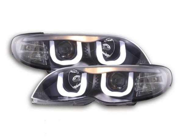 Angel Eye headlight BMW serie 3 E46 saloon/Touring Yr. 02-05 black