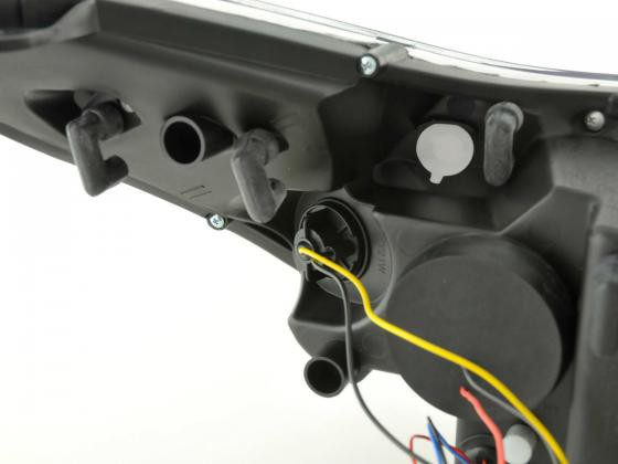 headlight Citroen C4 3-door./5-door. type L Yr. 04- chrome